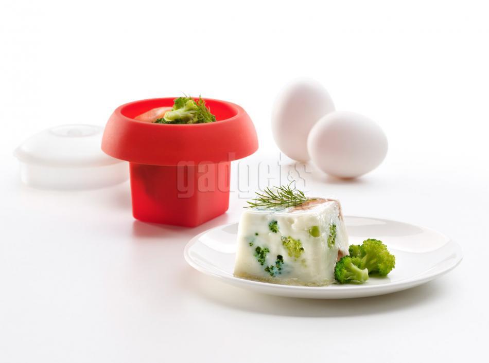 Molde ovo silicona para huevos cuadrado gadgets cuina - Silicona para microondas ...