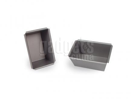 Molde mini plum cake aluminio 9 cm