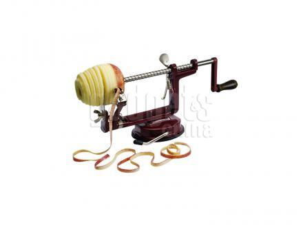 Pelador de manzanas Tellier con ventosa