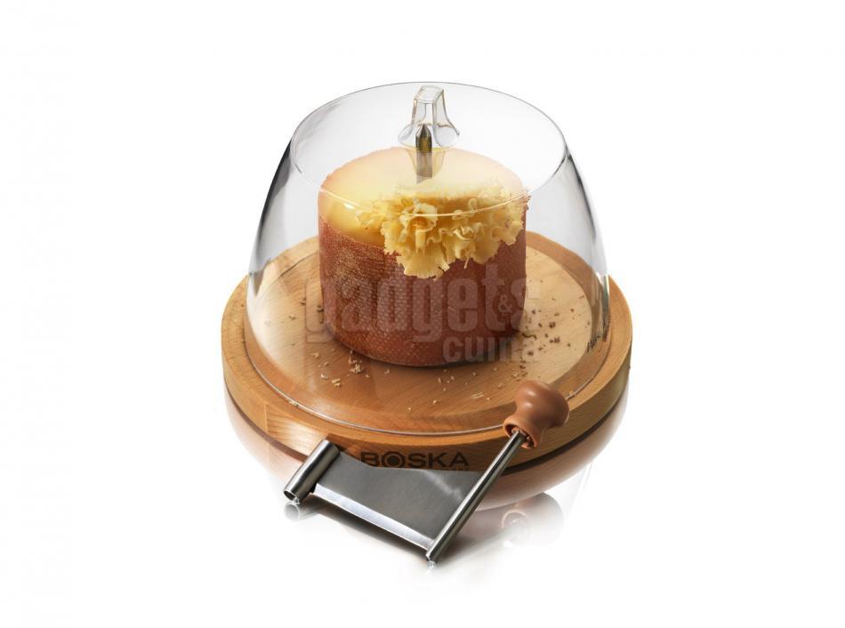 Cortador queso tete de moine boska con tapa gadgets cuina - Cortador de queso ...