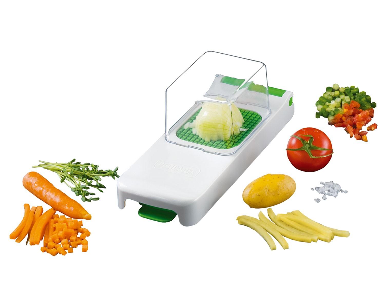 Cortador alligator 6x6 mm con colector gadgets cuina for Instrumentos de cocina