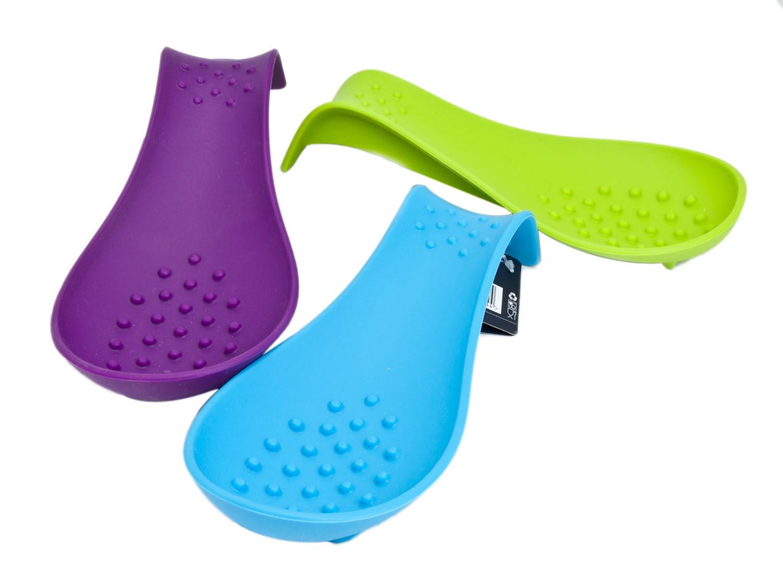 Reposa cucharas silicona colores gadgets cuina for Porta cucharas cocina