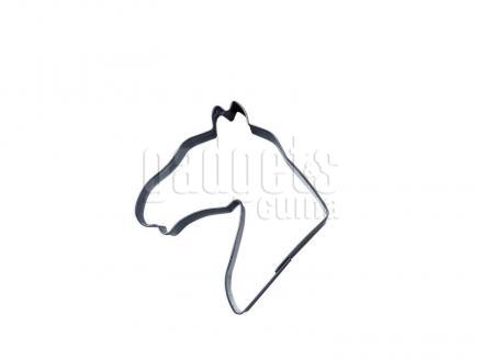 Cortador galletas cabeza caballo 7 cm