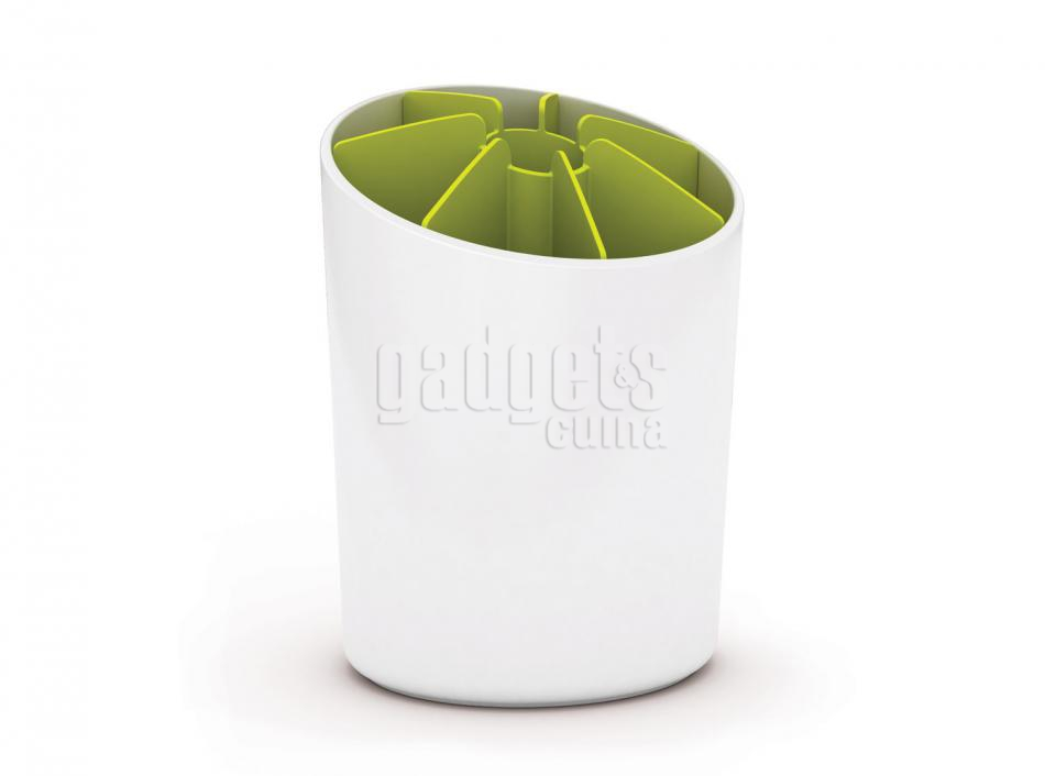 Bote utensilios segment blanco verde gadgets cuina for Bote utensilios cocina