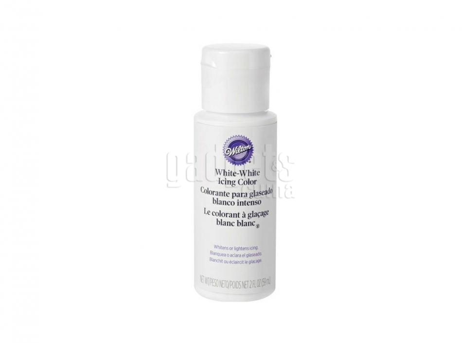 Colorante Wilton icing color 28 g blanco | Gadgets & Cuina