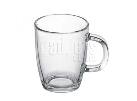 Taza mug Bistro transparente 310 ml