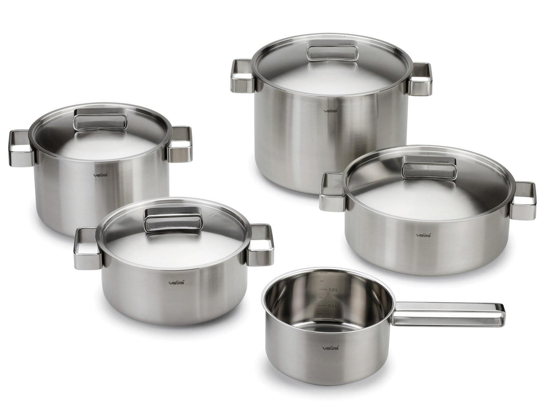 Juego 5 piezas ollas aroma gadgets cuina for Utensilios de cocina para zurdos