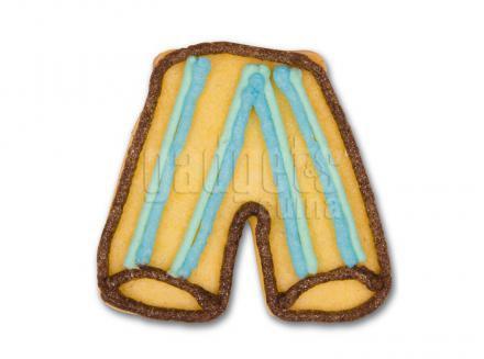 Cortador galletas pantalón fútbol 6 cm