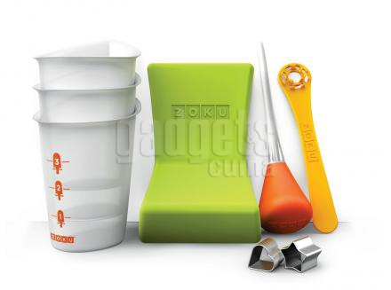 Set 8 accesorios helados Zoku
