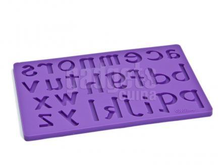 Set 3 Moldes fondant & gum paste Letras y Números