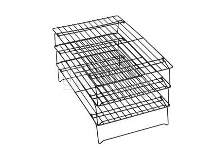 Set 3 rejas enfriadoras antiadherentes 40x25