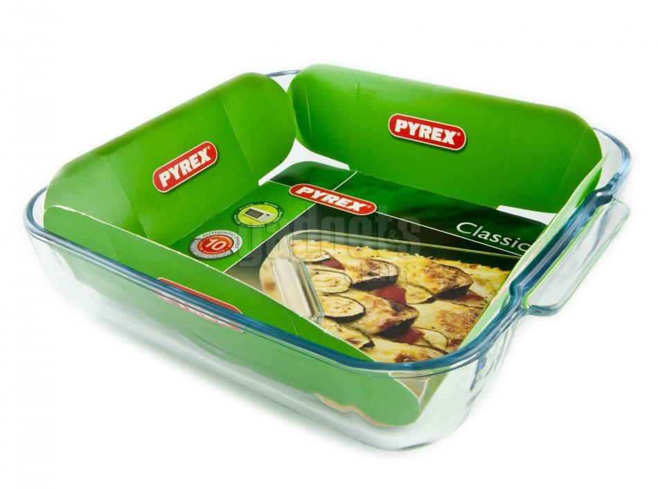 Fuente horno cuadrada pyrex 21 cm gadgets cuina - Fuentes para horno ...