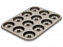 Motllo donut metàl·lic 12 cav.