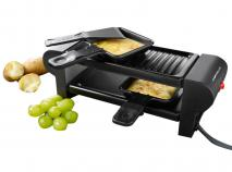 Mini raclette el�ctrica Boska negra