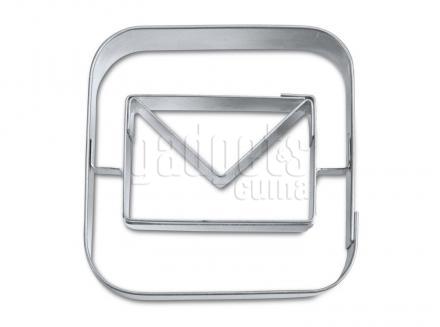Cortador galletas app Mail 5 cm