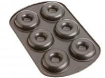 Molde donut metálico Wilton 6 cav