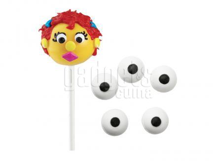 Decoraciones Ojos azúcar 1 cm Eyeballs