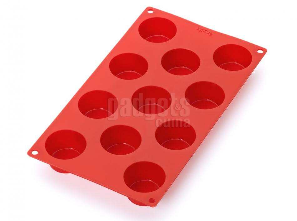 Molde mini cupcakes x11 silicona lekue gadgets cuina - Moldes cupcakes silicona ...
