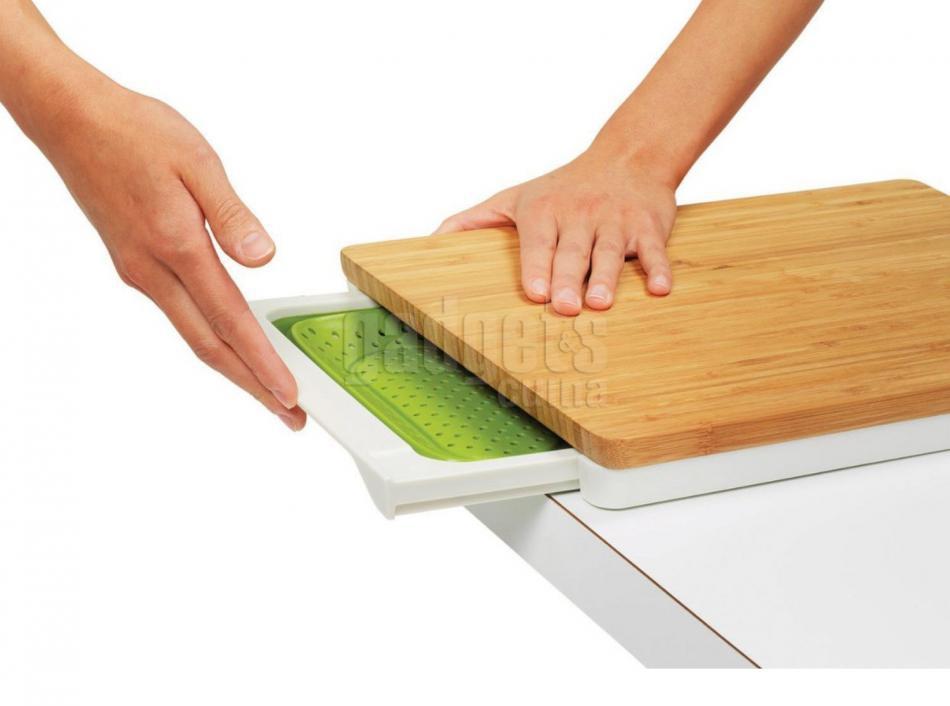 Tabla de cortar multifuncin en bamb gadgets cuina - Tabla de cortar ...