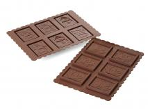 Kit galletas de chocolate Mu�eco de nieve