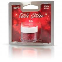 Polvo brillante comestible 5 g Glitter Rojo