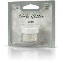 Pols brillant comestible 5g Glitter Blanc