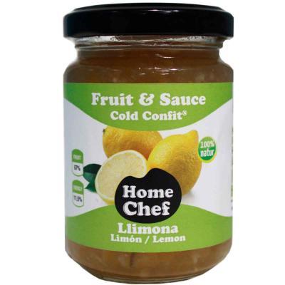 Fruit & Sauce dados limón con piel 170 g