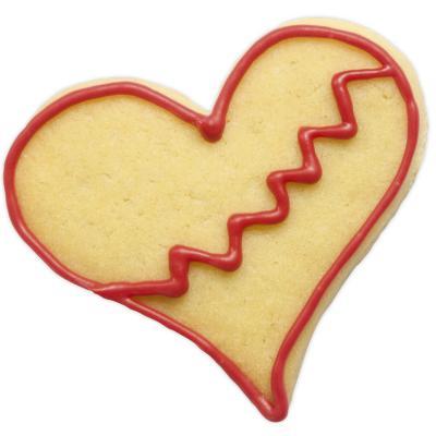 Cortador galletas corazón