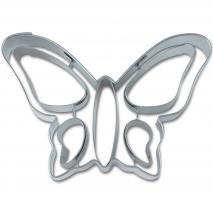 Tallador galetes papallona relleu 8 cm