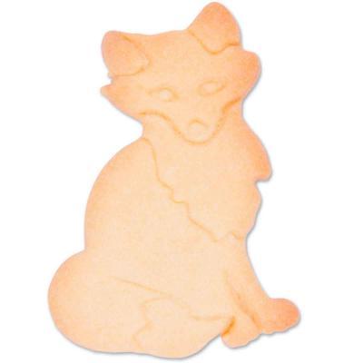 Cortador galletas zorro 6,5 cm