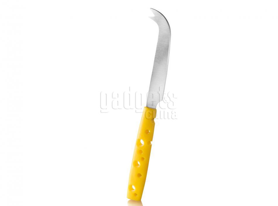 Cuchillo queso mango amarillo boska gadgets cuina for Cuchillo queso el corte ingles