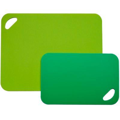 Juego 2 láminas de cortar flexibles verd/lima