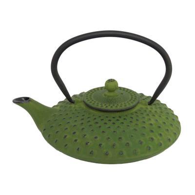 Tetera de hierro Jing verde