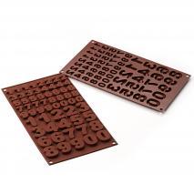 Molde bombones silicona 123 Números