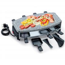 Raclette ovalada y piedra Palu 8 personas