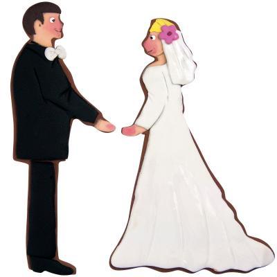 Cortador galletas novio boda 9,5 cm