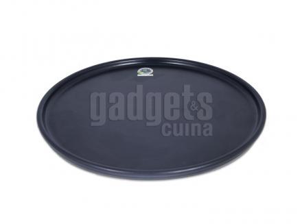 Plato pizza cerámica 30 cm negro