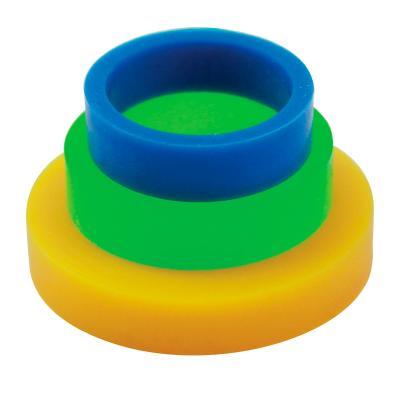 Juego 4 anillos guía para rodillos pequeños