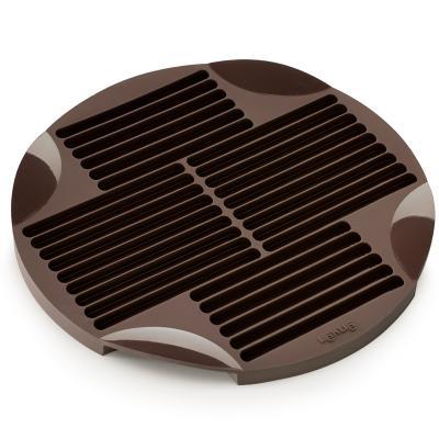 Molde Sticks silicona marrón