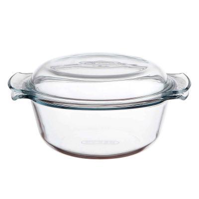 Cacerola horno cristal Pyrex con tapa