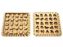 Molde bombones silicona Calendario Adviento y Caja