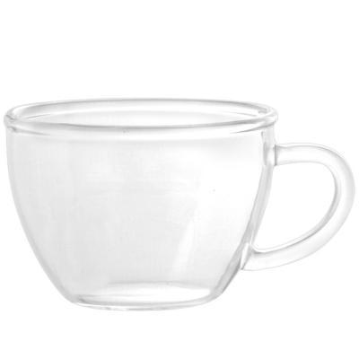 Taza café espresso cristal borosilicato