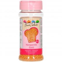 Sprinkles nonpareils perlas 80 g dorado