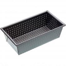 Molde para pan rectangular agujereado 23 cm