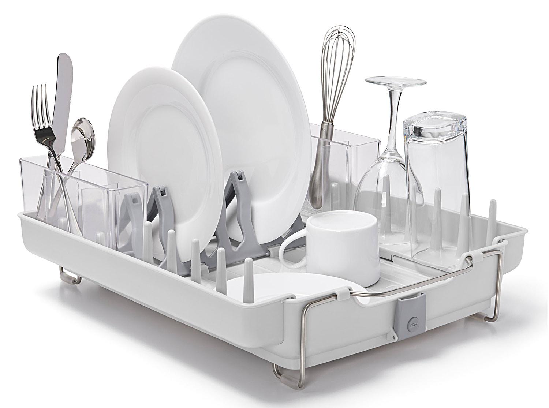 Escurreplatos plegable oxo gadgets cuina - Escurreplatos acero inoxidable ...