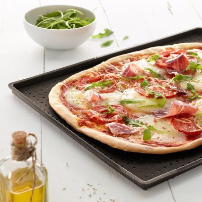 Bandeja silicona perforada para pizza Crunchy
