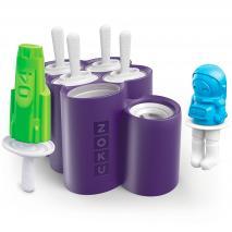 Motllo 6 gelats Zoku Space Pops coet espacial