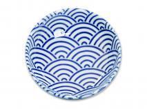 Cuenco para soja Nippon Blue olas