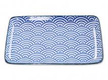 Bandeja Nippon Blue ola 21x13 cm