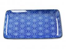 Bandeja Nippon Blue estrella 21x13 cm